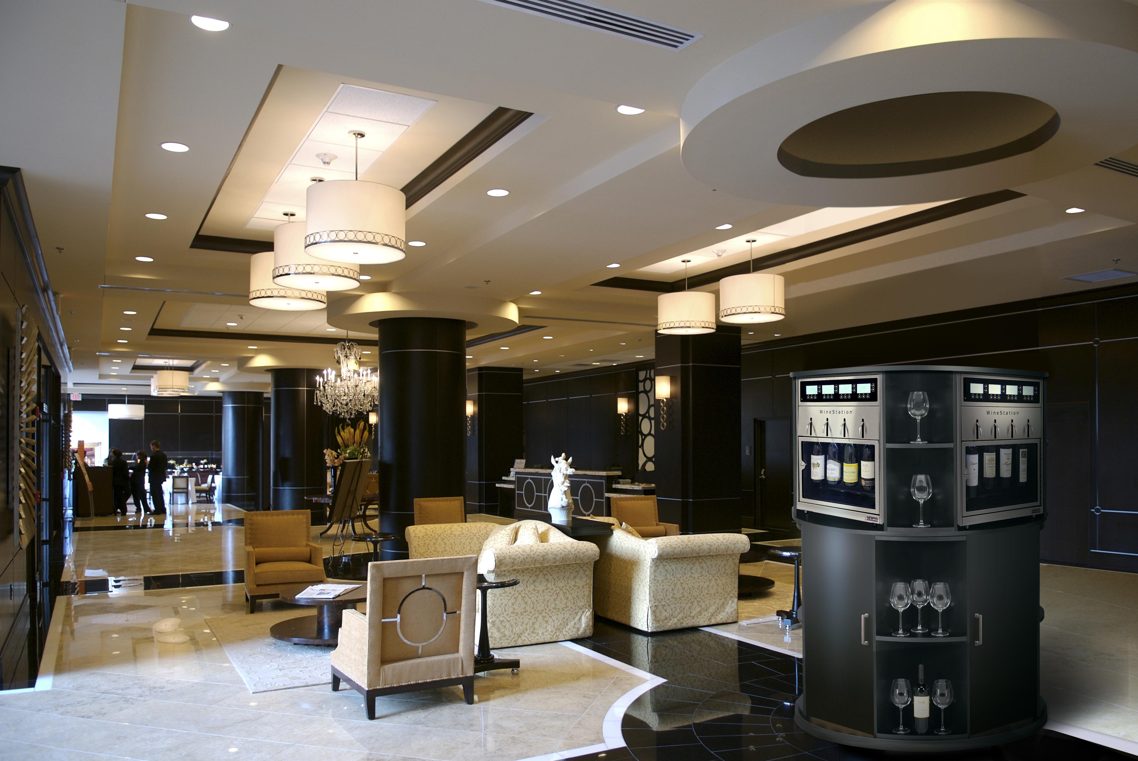 3.0 Hotel Lobby Round Elegant - Self Service