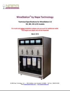 WineStation Tech Specs