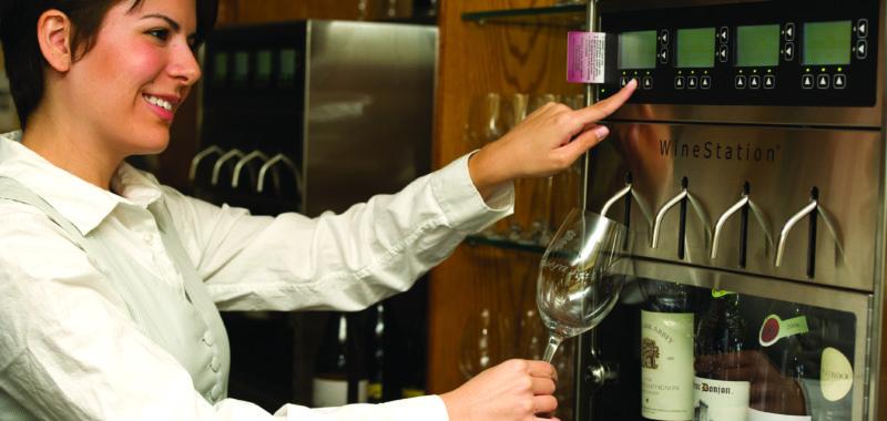 4. A Volume of Dispensing Options - Napa Technology WineStation