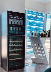 winestation cellar home wine bar